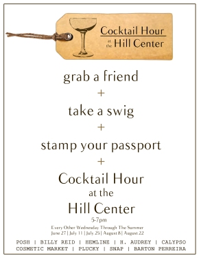 Cocktail Hour at the Hill Center